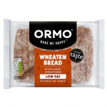 Ormo Sliced Wholemeal Wheaten 400g